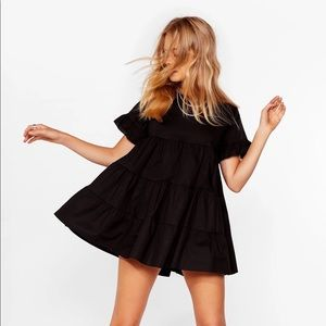 NWT Tiered Ruffle Mini Dress